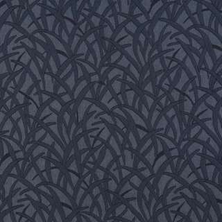 E583 Blue Grassy Meadow Durable Jacquard Upholstery Grade Fabric (2 options available)