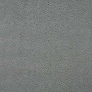 G018 Gray, Emu Ostrich Faux Leather Upholstery Vinyl