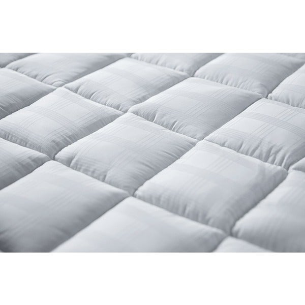 luxury 400 thread count cotton cuddlebed mattress topper free shipping today