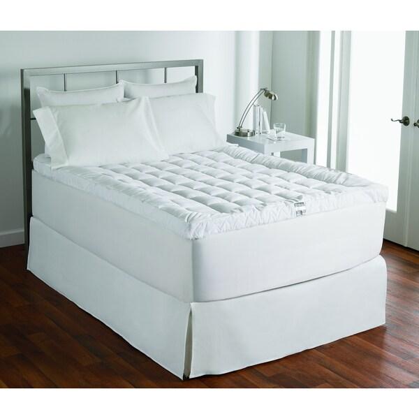 Luxury 400 Thread Count Cotton Cuddlebed Fiber Bed