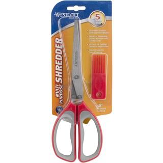 All Purpose Shredder Scissors 8in Red