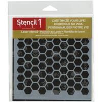 Stencil1 6inX6in Stencil Hexagon