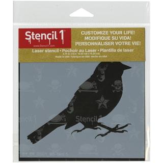 Stencil1 6inX6in Stencil Bird Silhouette 5