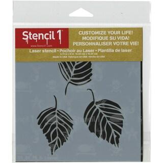 Stencil1 6inX6in Stencil Leaves