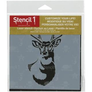 Stencil1 6inX6in Stencil Antlered Deer