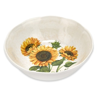 13-inch Sunflower Serving Bowl