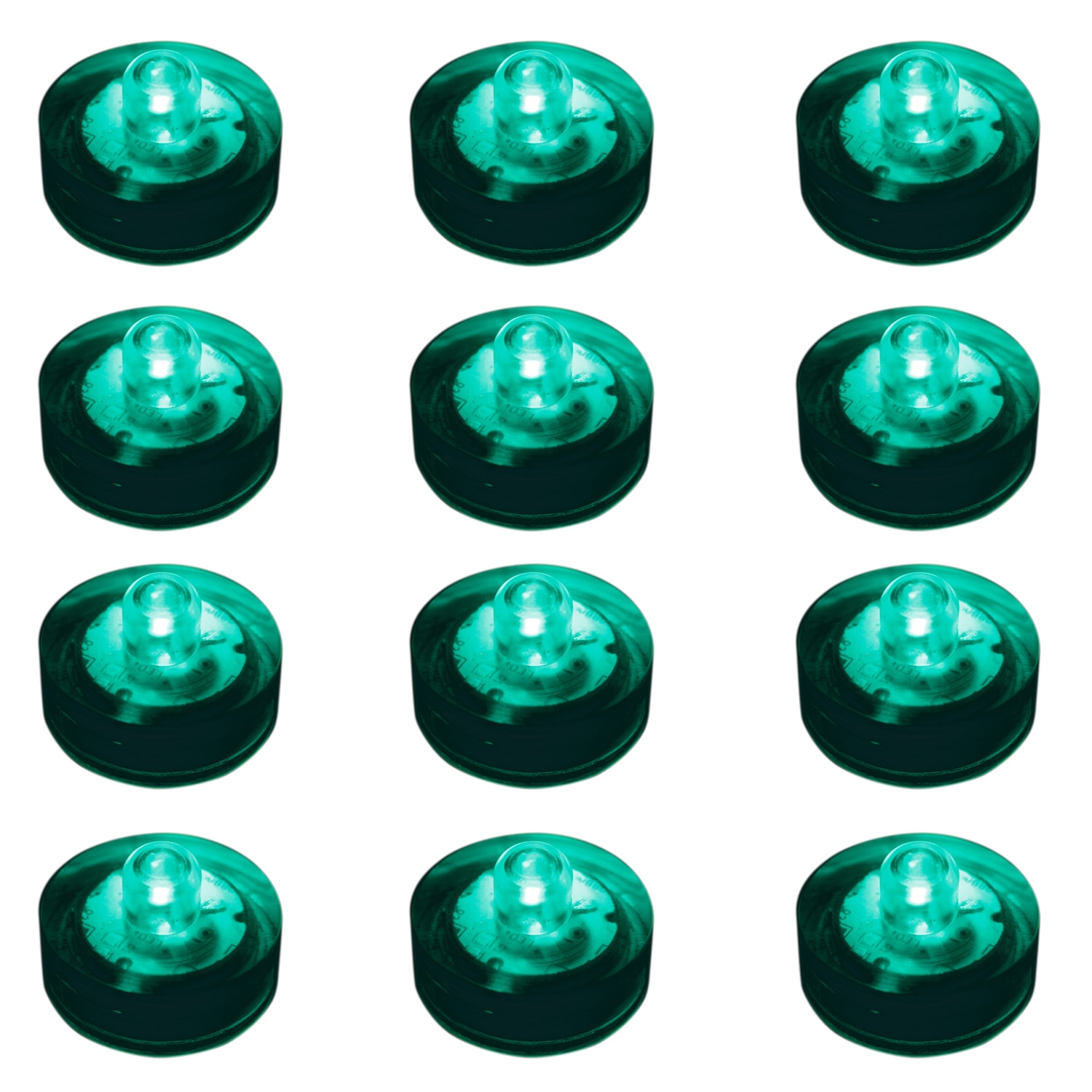 Lumabase Specialties Submersible LED Lights - Teal (Set o...