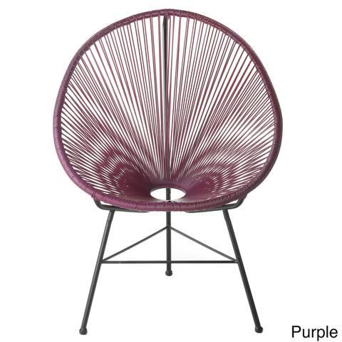Acapulco Indoor/ Outdoor Woven Lounge Chair