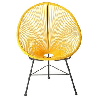 Link to Acapulco Indoor/ Outdoor Woven Lounge Chair Similar Items in Patio Furniture