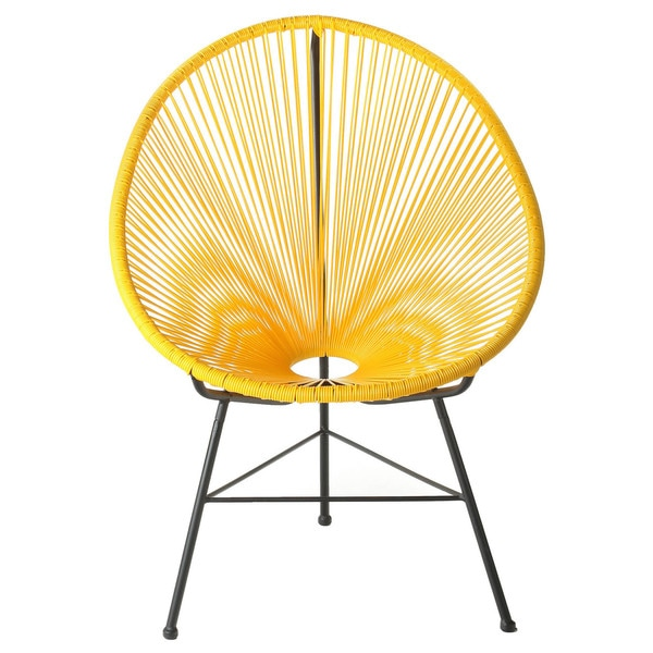 Acapulco Indoor/ Outdoor Woven Lounge Chair by Generic
