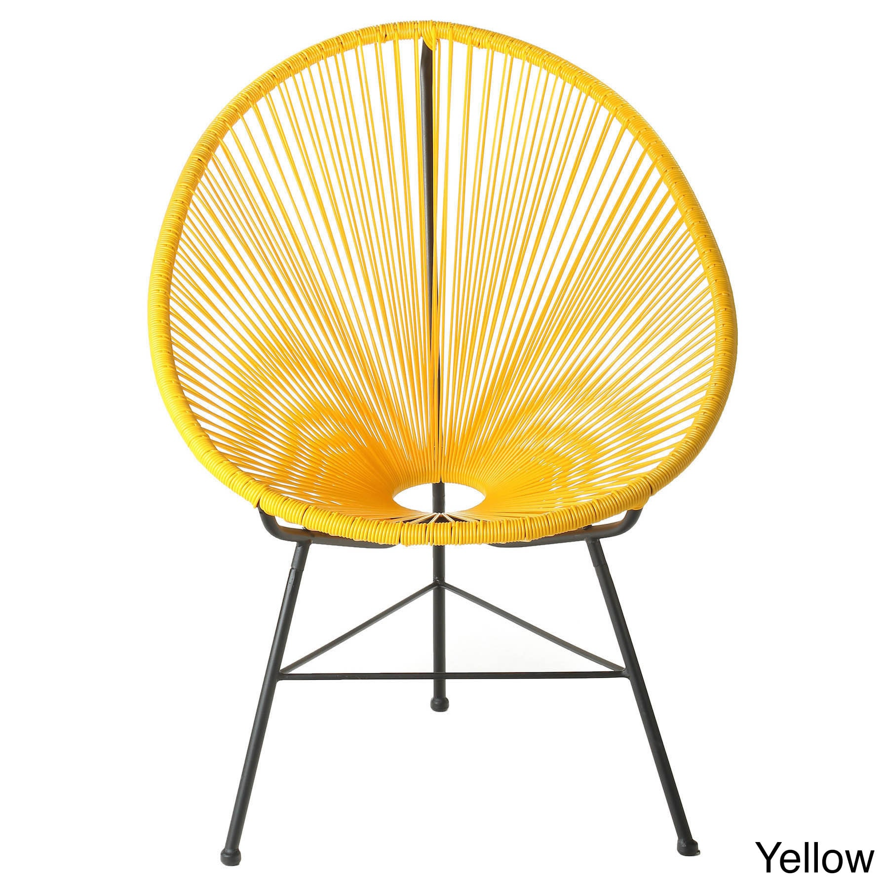 Indoor Outdoor Woven Lounge Chair