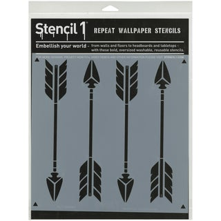 Stencil1 11inX11in Stencil Arrows
