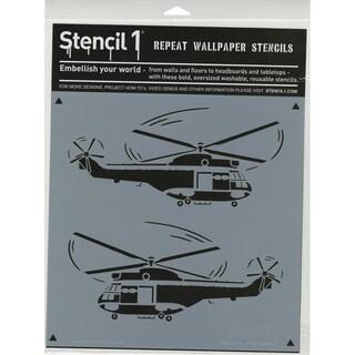 Stencil1 11inX11in Stencil Helicopters