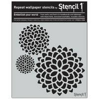 Stencil1 11inX11in Stencil Mum 3