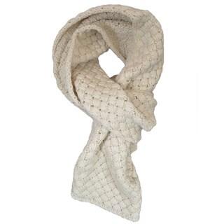 LA77 Crisscross Knit Scarf