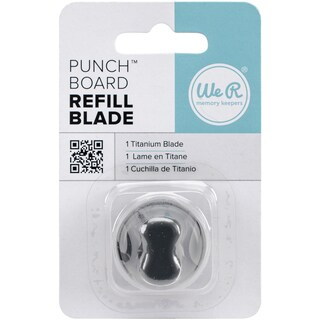 Punch Board Titanium Refill Blade For Use With Punch Boards