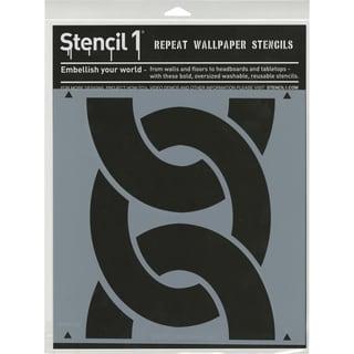 Stencil1 11inX11in Stencil Bold Chain