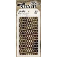 Tim Holtz Layered Stencil 4.125inX8.5in Mesh