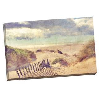 Portfolio Canvas Decor Noah Bay 'Golden Sands' Framed Canvas Wall Art