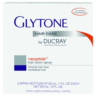Glytone by Ducray NEOPTIDE 1-ounce Hair Loss Lotion (Pack of 3)