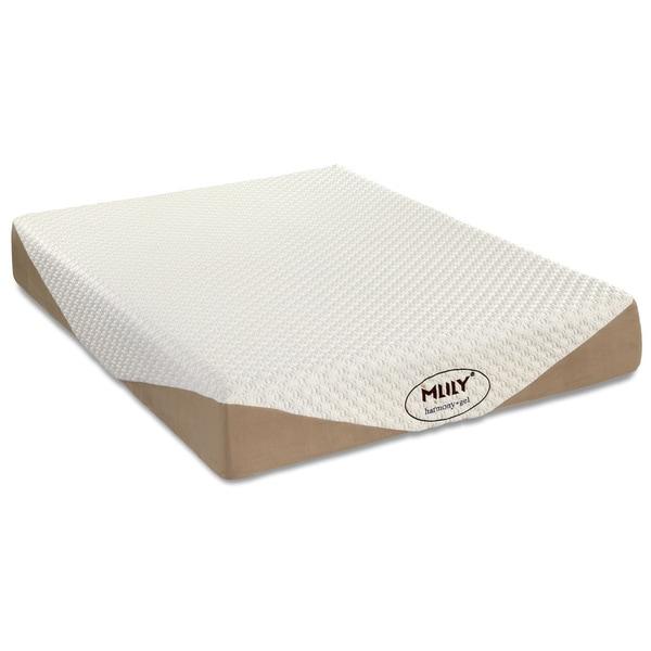 Mlily Harmony 10 inch Queen size Gel Memory Foam Mattress