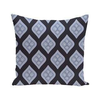 Geometric Print Blue/ Grey/ Green/ Purple 28-inch x 28-inch Decorative Indoor Floor Pillow