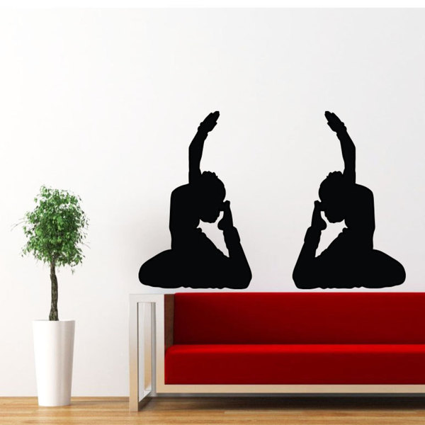 Hindu Indian Girlls Vinyl Sticker Wall Art