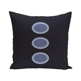 Geometric Print Blue/ Green/ Purple/ Brown 28-inch x 28-inch Decorative Indoor Floor Pillow