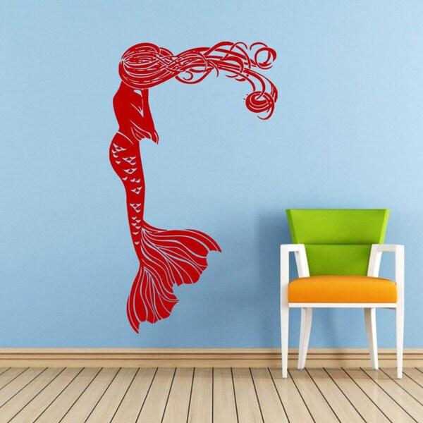 Mermaid Vinyl Sticker Wall Art