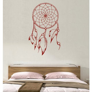Dreamcatcher Indian Feathers Vinyl Sticker Wall Art