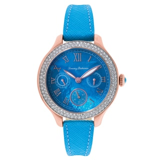 Tommy Bahama Rhinestone 'Waikiki Dream' Strap Watch