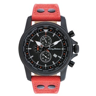 Tommy Bahama Men's 'Pilot' Chronograph Strap Watch