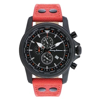 Tommy Bahama Men's 'Pilot' Chronograph Strap Watch|https://ak1.ostkcdn.com/images/products/10282901/P17398003.jpg?impolicy=medium