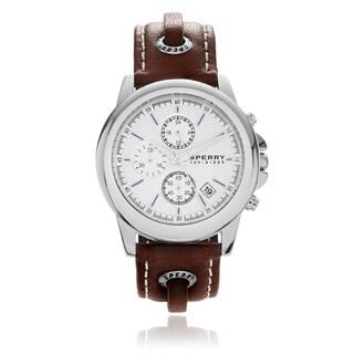 Sperry Men's 'Halyard' Skip Lace Strap Watch