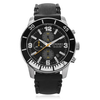 Sperry Men's 'Diver' Silicone Strap Watch