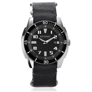 Sperry Men's 'Sharktooth' Nylon Strap Watch
