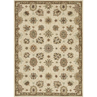 Hand-tufted Wilson Ivory/ Taupe Rug (9' x 12')