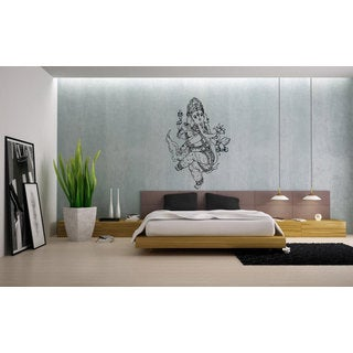 Ganesha Elephant Vinyl Sticker Wall Art