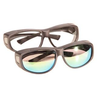 Hyskore OTG ANSI Glasses Set Clear/ Amber Black Frame