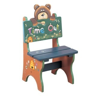 Teamson Kids Safari Bear Time Out Chair