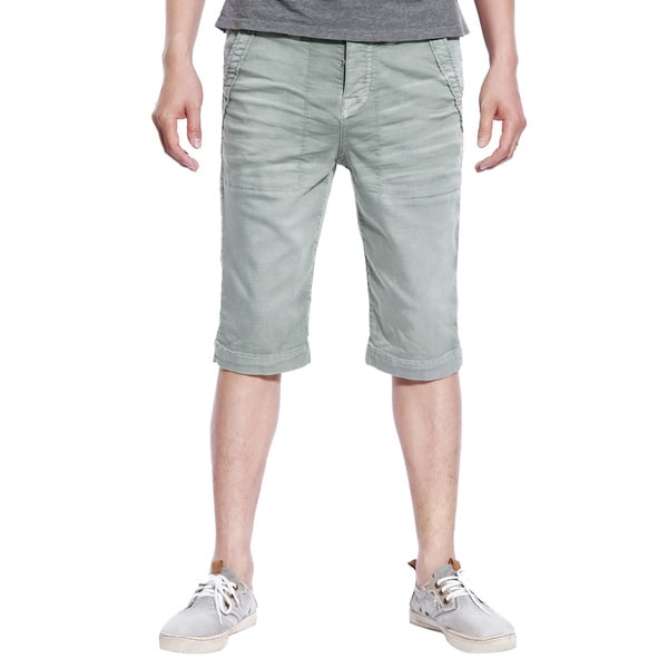 Stitch S Mens Casual Shorts Trousers Pants Woven Cotton