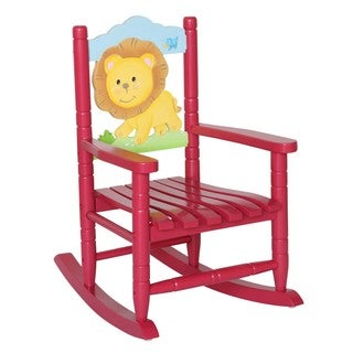 Teamson Kids Safari Lion Rocking Chair