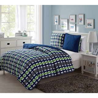 VCNY Juniper Reversible 3-piece Comforter Set