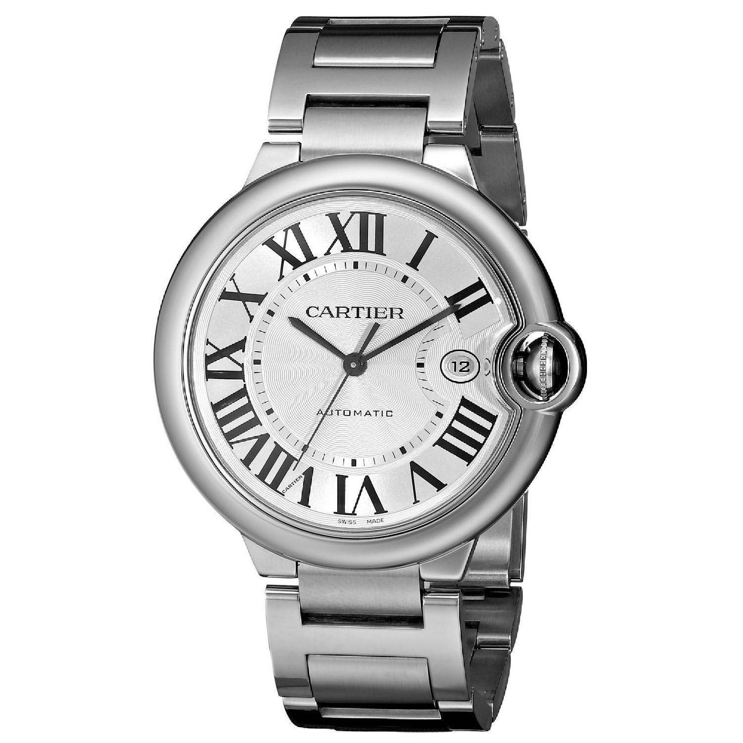 Cartier Mens W69012Z4 Ballon Bleu Automatic Stainless Steel Watch Cartier Mens W69012Z4 Stainless steel