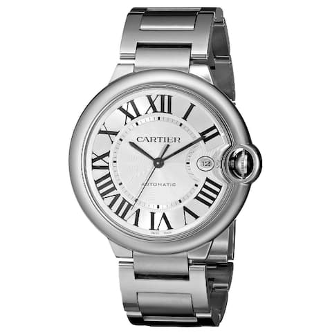 Cartier Men's W69012Z4 'Ballon Bleu' Automatic Stainless Steel Watch