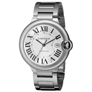 Cartier Men's W69012Z4 'Ballon Bleu' Automatic Stainless Steel Watch