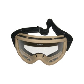 GXG Multi Sport Polycarbonate Lens Goggles Desert Tan airsoft shooting skiing