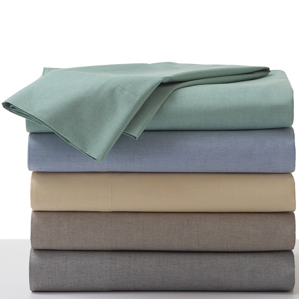 Modern Living Melange Chambray Sheet Set