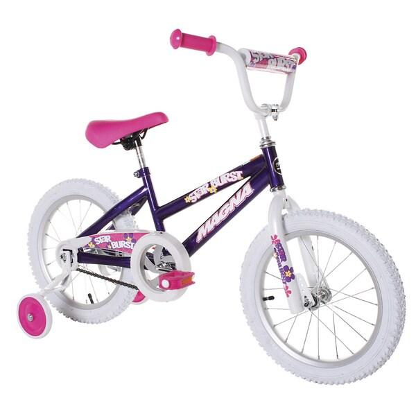 Shop Magna Starburst 16 Inch Girls Bike Free Shipping
