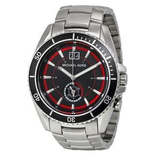 Michael Kors Men's MK8401 'Jetmaster' Stainless Steel Watch|https://ak1.ostkcdn.com/images/products/10283480/P17398675.jpg?impolicy=medium